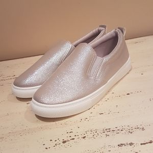 New Silver Sneakers